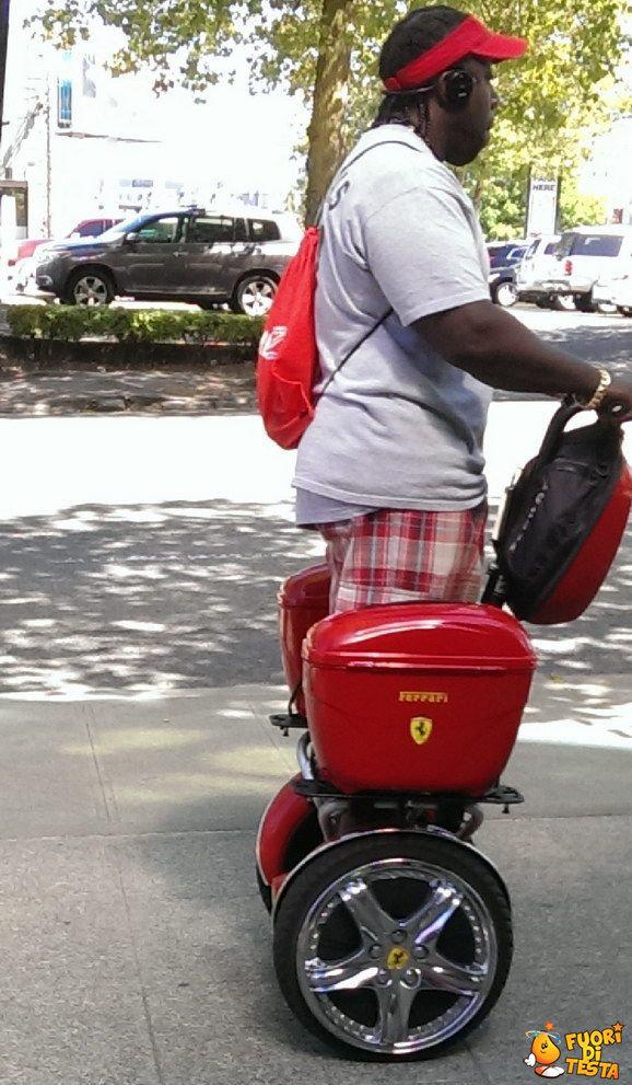 Un nuovo modello di Ferrari