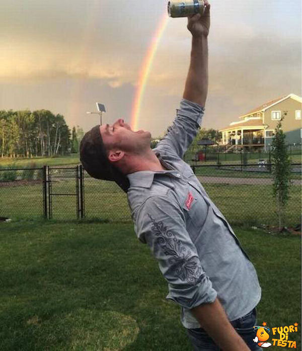 Un rinfrescante arcobaleno