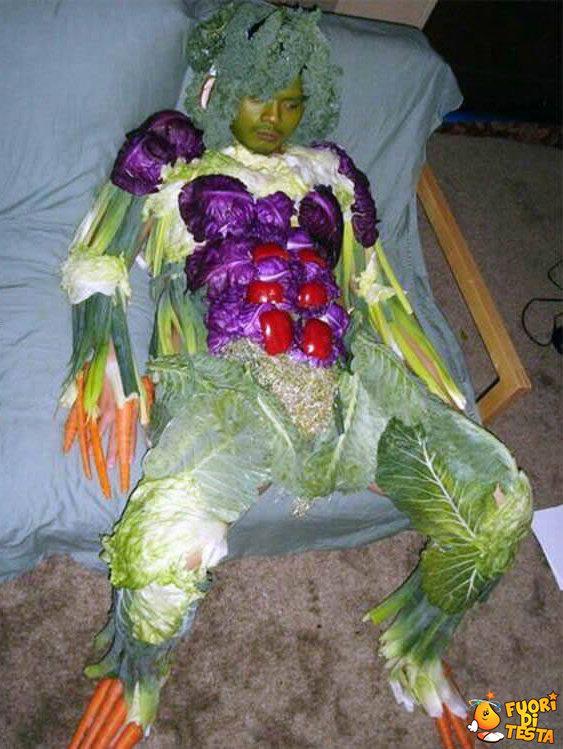 L'uomo verdura