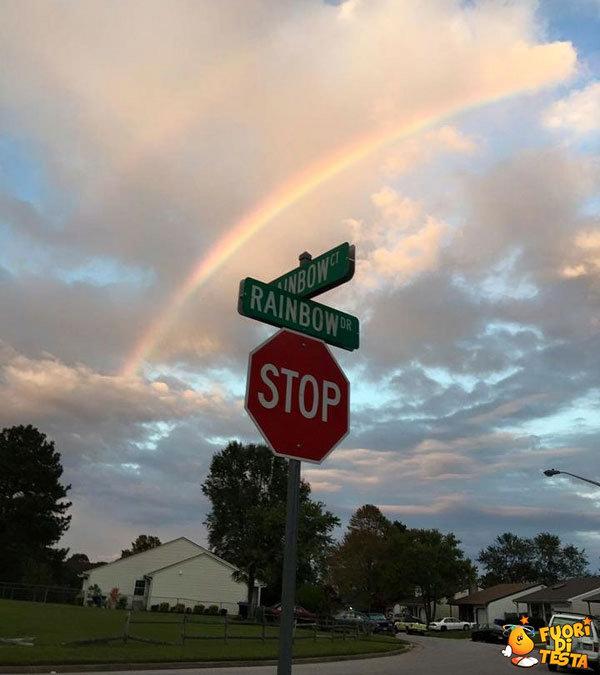 Via dell'arcobaleno