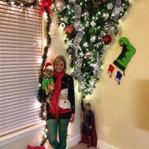 Albero di Natale capovolto