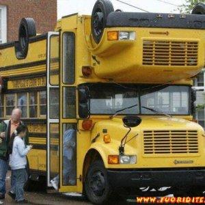 Autobus reversibile