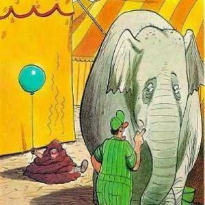 Elefante cattivo