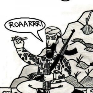 Bin Laden gioca