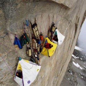 Campeggio ad alta quota