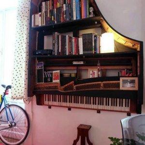 Come sfruttare un vecchio pianoforte