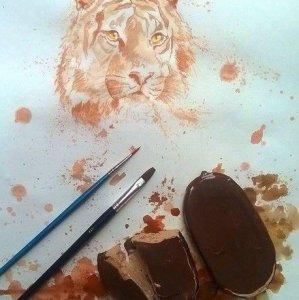 Disegnare con un gelato
