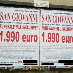 Funerale low cost