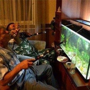 Giornata di pesca con amici