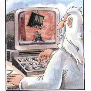 Dio al computer