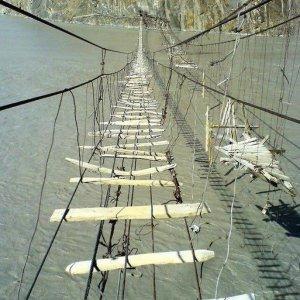 Il ponte più pauroso al mondo