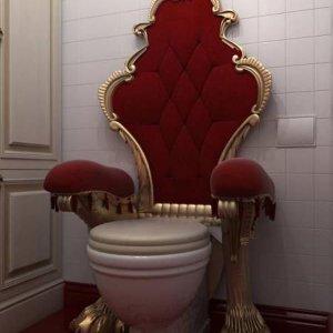 Il trono di cessi