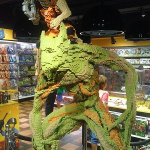 Incredibile scultura coi lego
