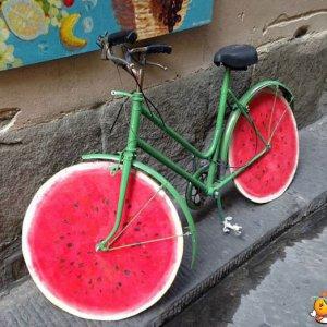 La bicicletta anguria