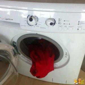 La lavatrice è impazzita