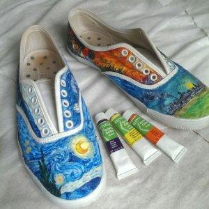 Nuova vita per le vecchie scarpe
