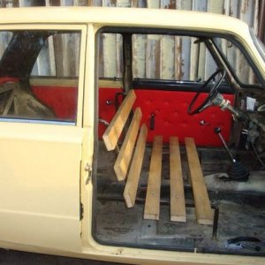 Nuovi sedili per l'auto
