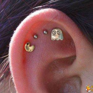 Orecchini Pac-Man