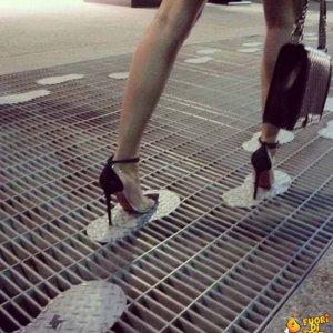 Per le donne coi tacchi