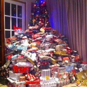 Pochi regali questo Natale