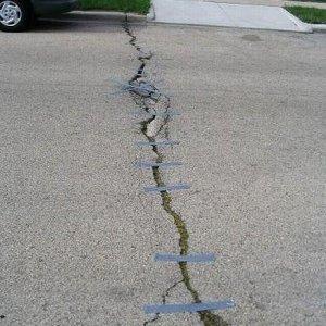 Riparare il manto stradale