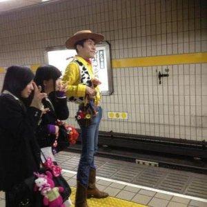 Strana gente in metro