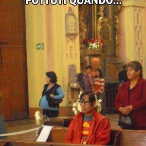 Superman prega