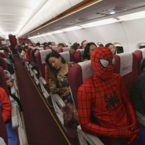 Tranquilli, Spiderman è a bordo