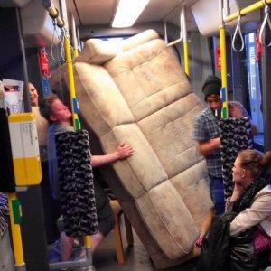 Traslocare con la metropolitana