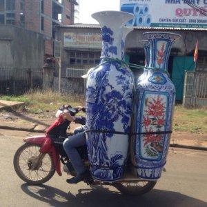 Trasportare i vasi cinesi
