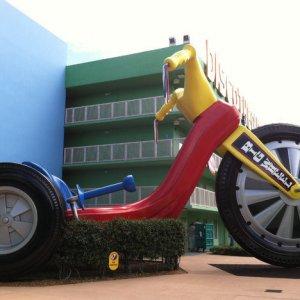 Triciclo per giganti