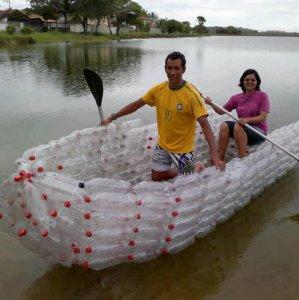 Una barca riciclata