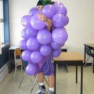 Vestirsi da grappolo d'uva