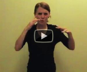Interpreta una canzone di Eminem usando la lingua dei segni