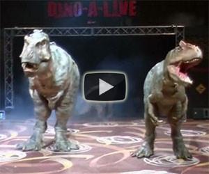 Gli incredibili e realistici dinosauri robot creati dai giapponesi
