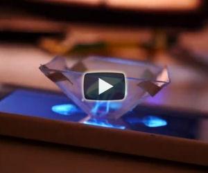 Trasformare il proprio smartphone in un proiettore di ologrammi