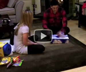 Regala al fidanzato una finta Wii, ecco la sua reazione quando lo scopre