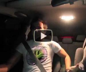 Scherzo del fantasma in auto